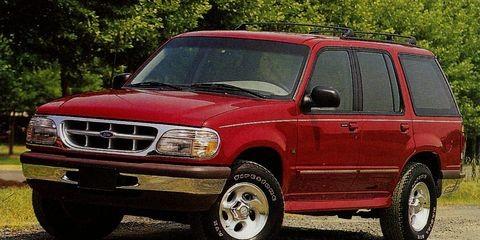 Ford Explorer Mercury Mountaineer 95 96 97 98 1999 2000 2001 Factory Service Workshop Repair manual