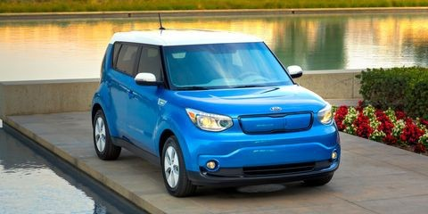 KIA Soul EV 2016 Service Workshop Repair Manual
