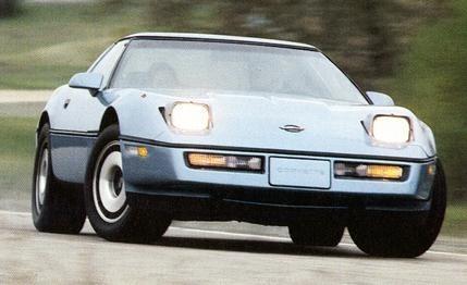 Chevrolet Corvette 1983 to 1990 Service Workshop Repair Manual