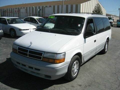 Dodge Caravan - Town and Country - Plymouth Voyager 1991 to 1995 Service Workshop Repair Manual
