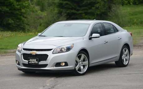Chevrolet Malibu 2013 to 2016 Service Workshop Repair Manual