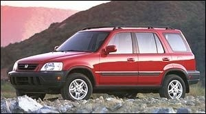 Honda CRV 1997 to 2001 Service Workshop Repair Manual
