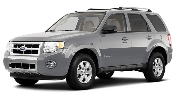 Ford Escape, Escape Hybrid, Mariner, Mariner Hybrid 2009 Factory Service Workshop Repair manual