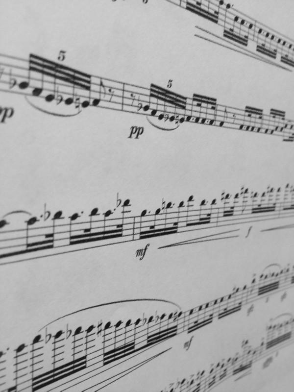 N. Rimsky-Korsakov (arr. M. Rosiak) - Flight of the bumblebee for three flutes (score and parts)
