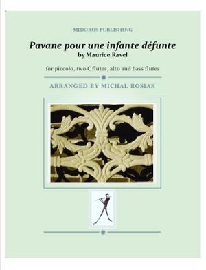 M. Ravel - Pavane for flute ensemble (score and parts)
