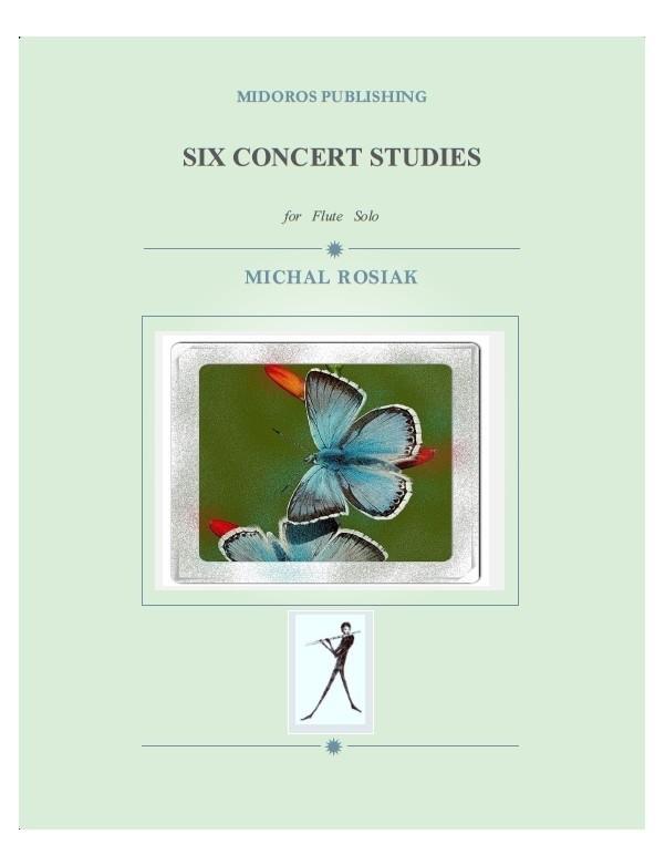 M. Rosiak - Six Concert Studies for flute