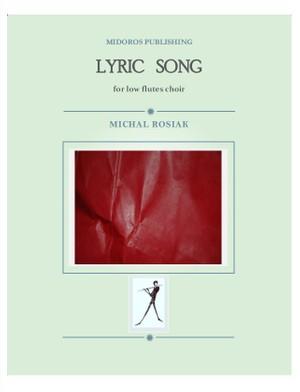 M. Rosiak - Lyric song for low flutes ensemble
