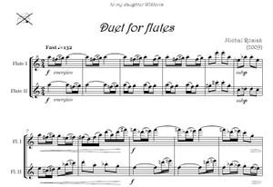 M. Rosiak - Duet for two flutes