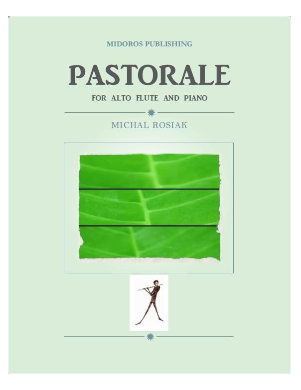 M. Rosiak - Pastorale for alto flute and piano (score and part)