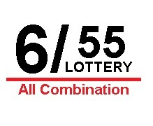 Lotto 6/55 All Combination