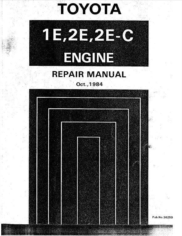 toyota 1e 2e 2e c repair manual cartechmanual rh sellfy com toyota 2e engine service manual toyota tazz 2e workshop manual