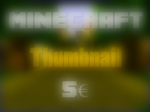 Minecraft: Thumbnailtemplate