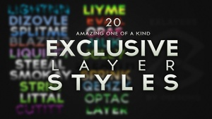 Exclusive Layer Styles