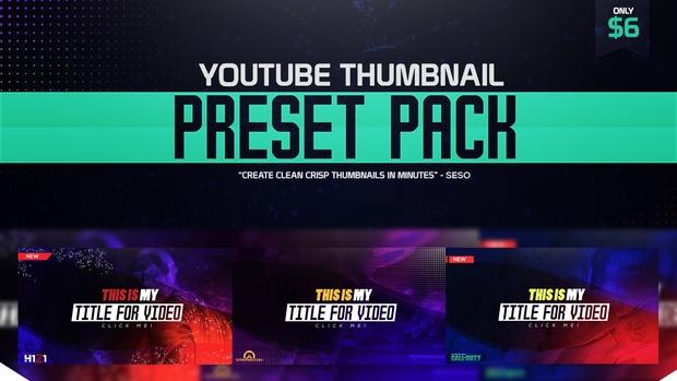 Thumbnail Preset Pack