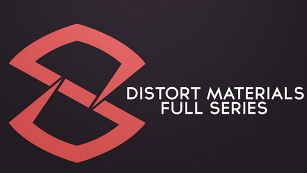 Cinema 4D Distort Materials Series