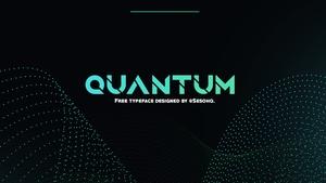 Quantum Free Typeface