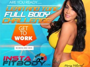 Instafitbody instant download fitness ebooks instafitbody 30 day lean tone full body workout fandeluxe Gallery