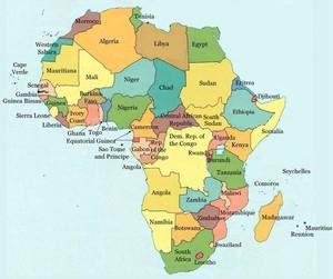 Datos Mundiales NOAA-GHCN. Zona AFRICA. / Global climatic data. AFRICA (NOAA-GHCN)