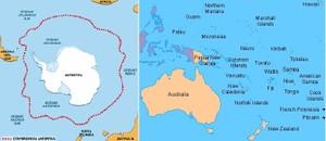 Datos climáticos mundiales. Zona OCEANIA-ANTARTIDA. / Global climatic data. OCEANIA-ANTARCTICA