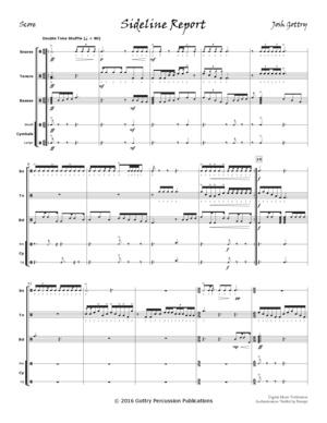 Sideline Report (drumline)