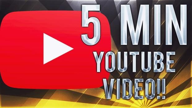 YOUTUBE VIDEO     0-5 min
