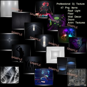 Professional Dj Animate Textures Pack