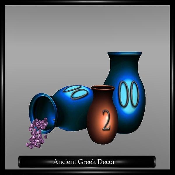 ANCIENT GREEK DECOR