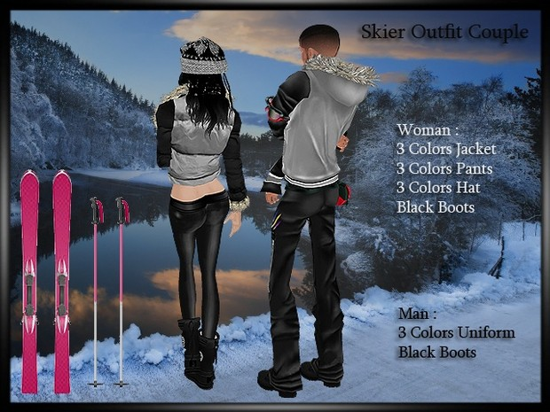 Outfit Skier Couple