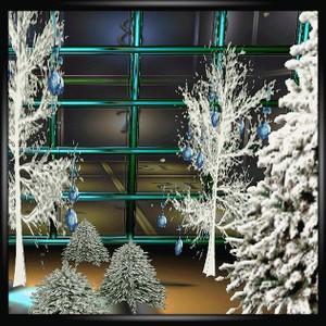 Christmas Garden Room