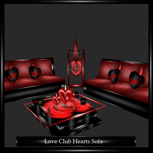 Love Club Hearts Sofa