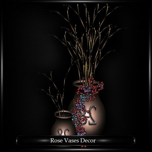 ROSE VASES DECOR