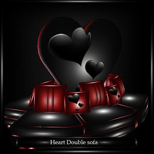 Heart Double Sofa