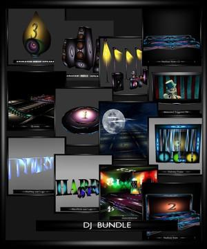 DJ BUNDLE  (3 ROOM 10 FURNITURE MESH)