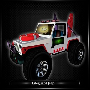 LIFEGUARD JEEP