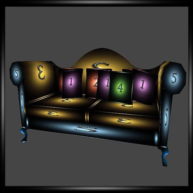 Petit Christmas sofa