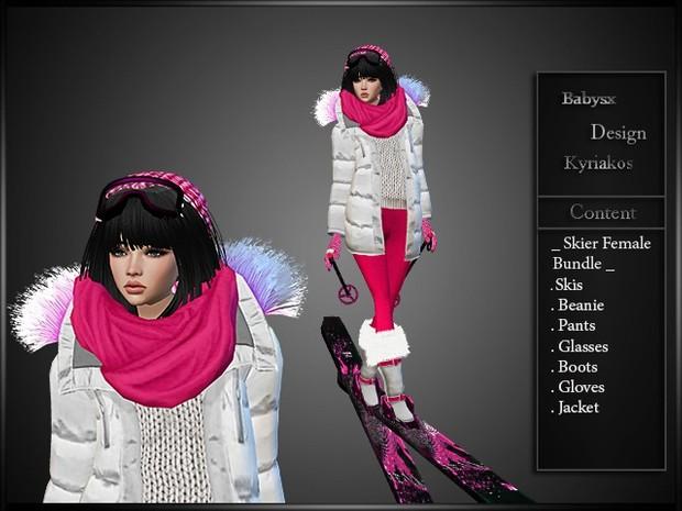 Skier Female Bundle