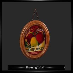 Juice Hagning Label
