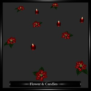 Flower & Candles