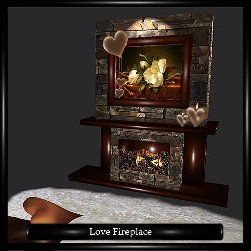Love Fireplace