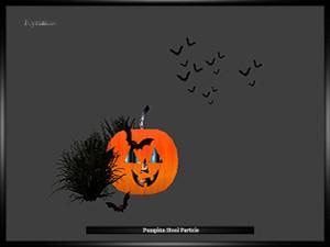 Pumpkin Stool Particle