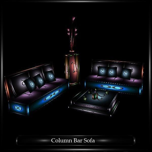 COLUMN BAR SOFA