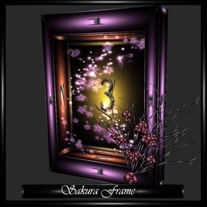 SAKURA FLOWER FRAME