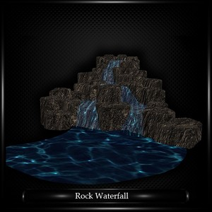 ROCK WATERFALL
