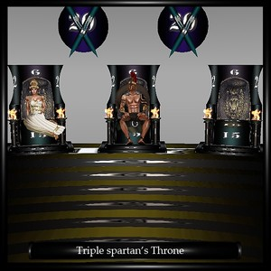 TRIPLE SPARTAN S THRONE