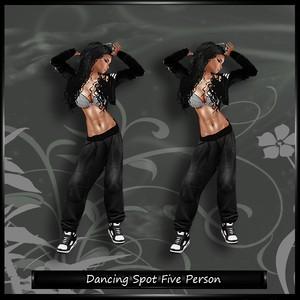 Dancing Spot Five Person