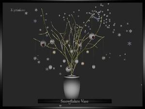 Snowflace Vase