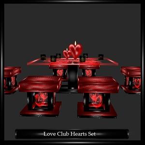Love Club Hearts Set