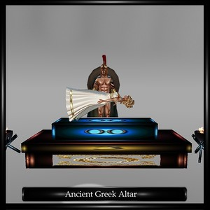 ANCIENT GREEK ALTAR