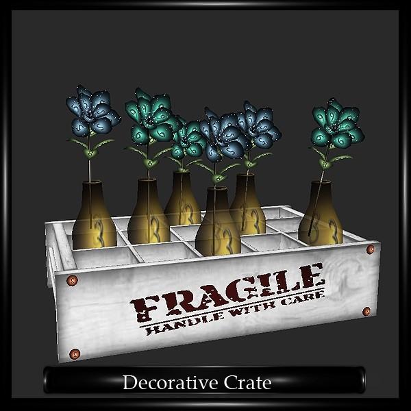 DECORATIVE CRATE