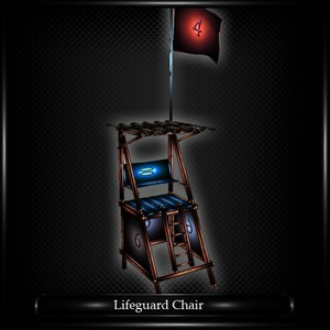 LIFEGUARD CHAIR MESH FURNITURE